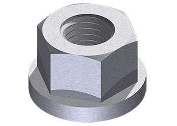 NABRICO FLANGED HEX NUT