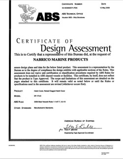 NABRICO ABS Certification